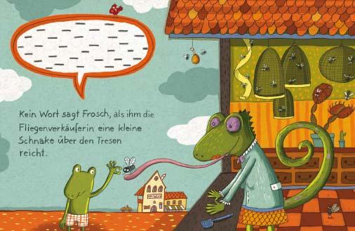 Sag mal Danke, du Frosch!
