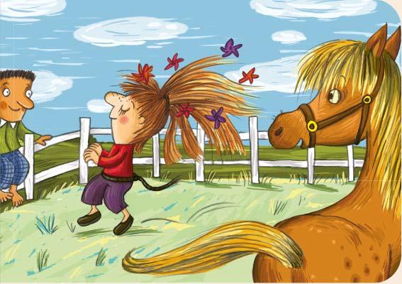 Locken, Pony, Pferdeschwanz