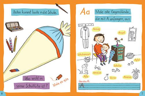 Wir sind erste Klasse-Schulstart-Heft