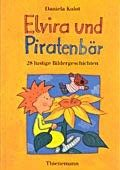 """""""Elvira und Piratenbär - <br>  28 lustige Bildergeschichten """" <br> Autorin und Illustratorin: Daniela Kulot <br> Thienemann, 2000<br>•<a href=""""http://www.thienemann-esslinger.de/thienemann/autoren-illustratoren/autordetail-seite/daniela-kulot-106/"""" target=""""_blank"""">Buchhandel</a>"""