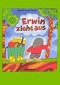 """""""Erwin zieht aus"""" <br> Autorin und Illustratorin: Daniela Kulot <br> Thienemann, 1995<br>•<a href=""""http://www.thienemann-esslinger.de/thienemann/autoren-illustratoren/autordetail-seite/daniela-kulot-106/"""" target=""""_blank"""">Buchhandel</a>"""